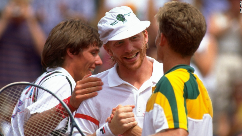 "Upon beating South Africa in the 1992 Olympic final, Stich and Becker hugged ""like brothers"" -- a gesture Becker says would have been ""impossible"" just a week before the tournament."