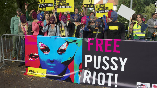 The three imprisoned members of Pussy Riot have appealed their convictions, while other members have fled Russia to escape arrest.