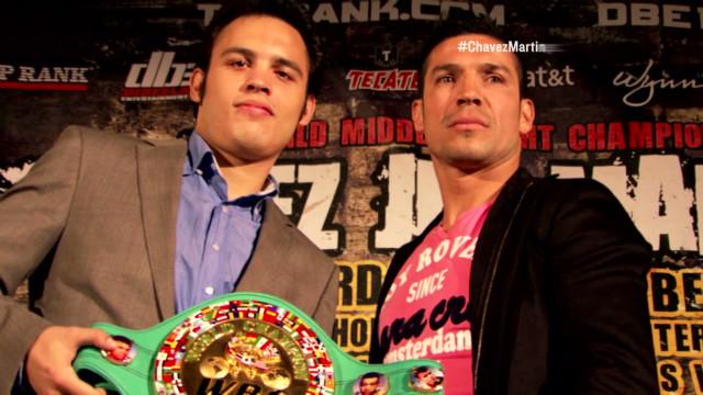 Martinez goes after Chavez Jr.'s belt