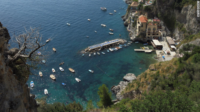 Amalfi Coast Road: Perfect for a drop-top on a summer's day.