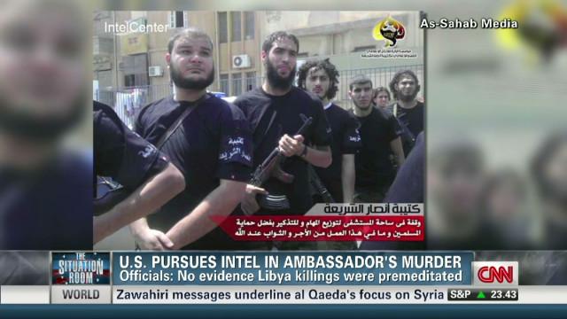 Suspects in Benghazi consulate attack