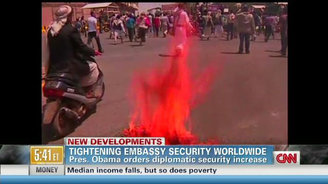 Violent protests spread to Yemen