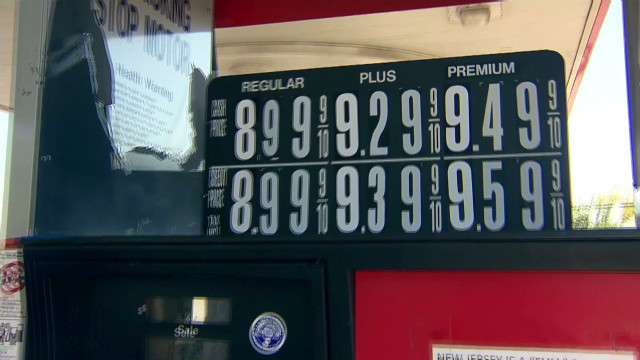 Sticker shock: $9 a gallon for gas