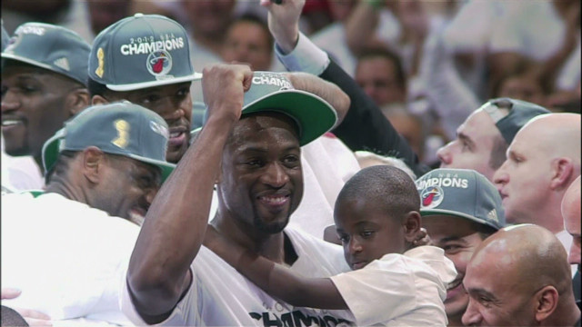 Dwyane Wade on 'being a good father'