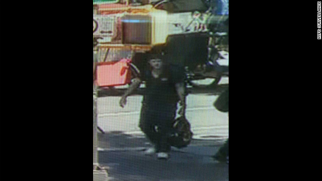 NYPD is searching for this person in relation to the sexual assault of a 73-year-old woman in Central Park Wednesday.