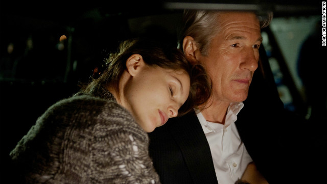 "Laetitia Casta and Richard Gere star in ""Arbitrage."""