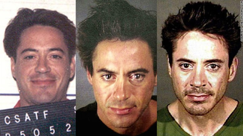 Robert Downey Jr.'s history of bad behavior