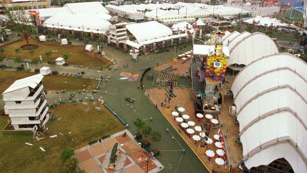 A Bomb Exploded In Centennial Olympic Park During The Summer Games Atlanta 1996