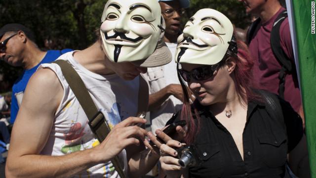 Occupy seeks foothold on anniversary