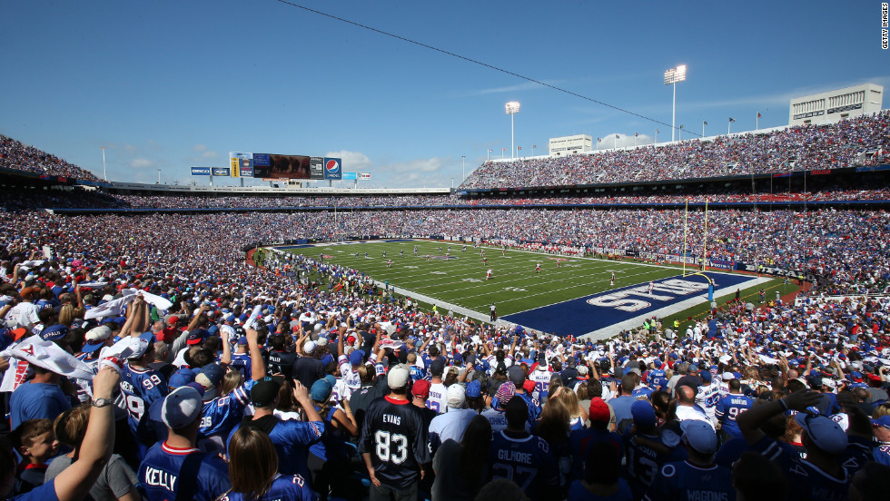The Kansas City Chiefs face off against the Buffalo Bills on Sunday at Ralph Wilson Stadium in Orchard Park, New York.