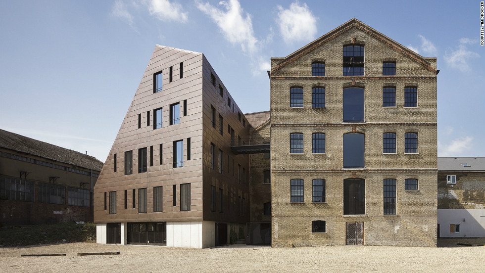 Scattered across the breadth of London, the 750 Open House venues represent a cross-section of the city's architectural heritage, from timber-framed Tudor dwellings to the latest steel-clad contemporary towers. This restoration of a five-storey Victorian granary with its adjacent bronze-coated extension is a neat embodiment of both old and new.