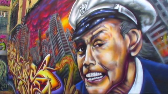 Fuenmayor US graffitti as art_00025105