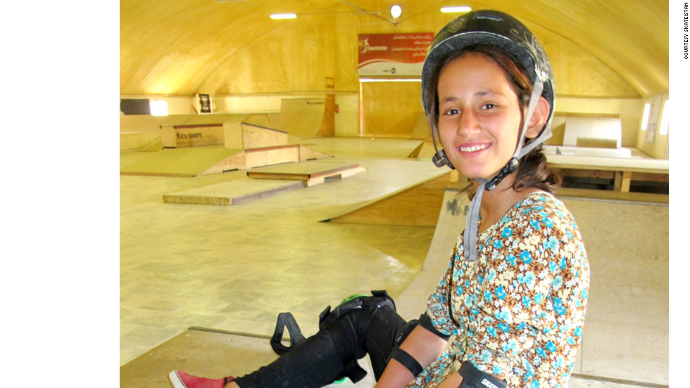 "Khorshid Hawa, 14, and her sister Parwana, 10, were among four children killed when a teenage suicide bomber blew himself up outside ISAF Headquarters in Kabul, Afghanistan on September 8, 2012. Photo courtesy of <a href="" http://www.skateistan.org/blog/tragic-loss"" target=""_blank"">Skateistan</a>."