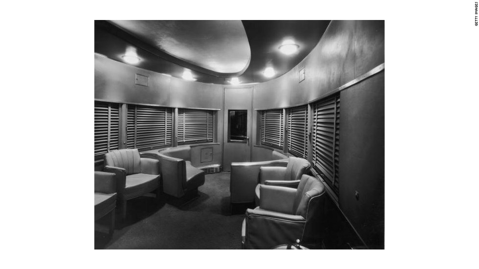 Each departure of the 20th Century Limited was an event, due to the celebrities and business tycoons aboard a typical train ride.