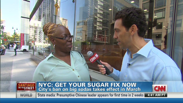 How  New Yorkers feel about big soda ban