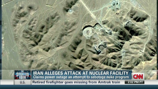 Iran claims nuclear sabotage