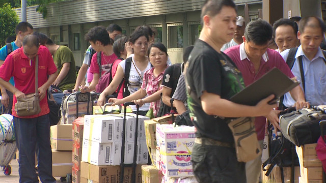 Hong Kongers irked by cargo carriers