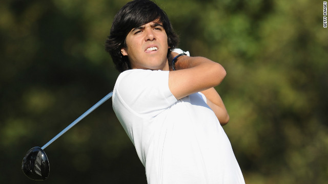 Javier Ballesteros, son of the late Seve Ballesteros, won the amateur Madrid Open on Sunday.