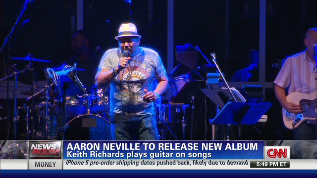 Aaron Neville tries doo-wop on new CD