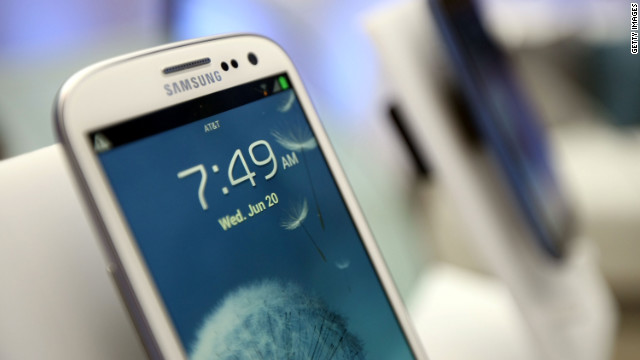 Sales of Galaxy smartphones have led Samsung to record profits.