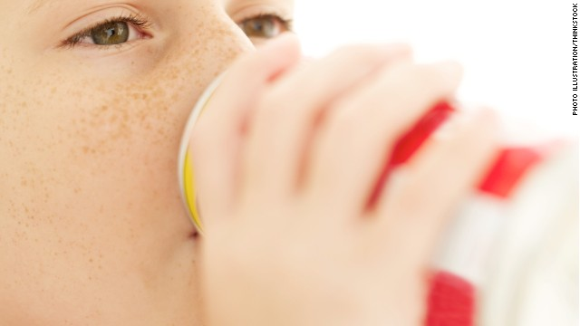 Study: 30% of kids have two or more sugary drinks a day