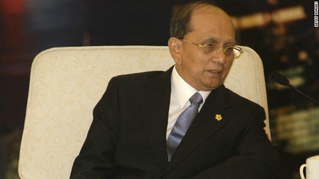 The announcement comes as Burmese President Thein Sein is due to visit the United States.