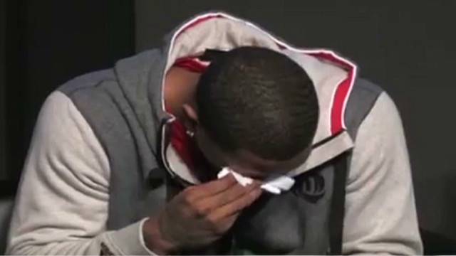 NBA star breaks down at sneaker launch