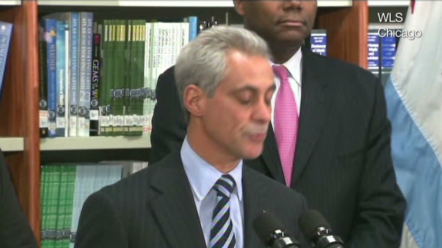 Chicago mayor: Kids are getting more