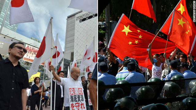 The dispute over the islands in the East China Sea has been seized upon by nationalists in both countries.