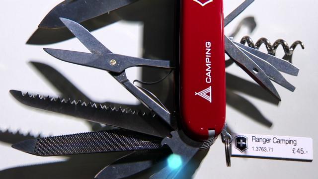 Swiss Army Knife maker sharpens brand