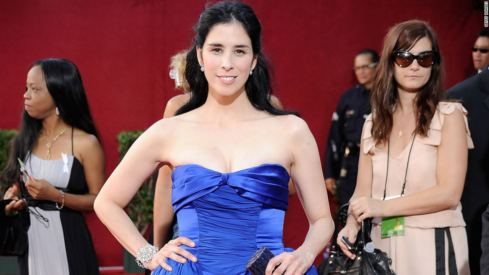 There was nothing funny about comedian Sarah Silverman's 2009 dress.