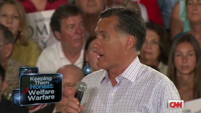 Romney's personal history with welfare