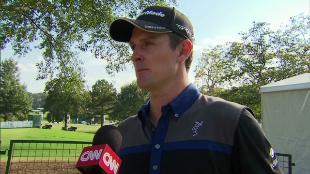 One-on-one with Justin Rose