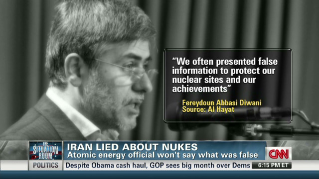 Does Iran lie about its nuclear program?