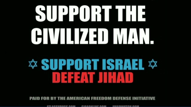 Anti-jihad ad to appear in NYC subways