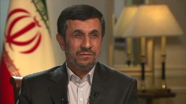 Ahmadinejad: We condemn 'extremism'