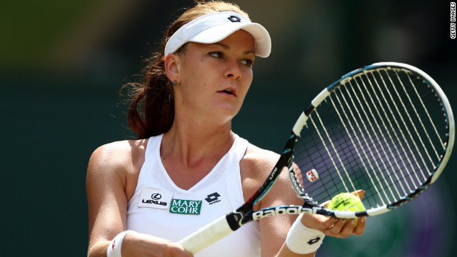 Agnieszka Radwanska will hope to round off an impressive year by winning the WTA Championships in October.