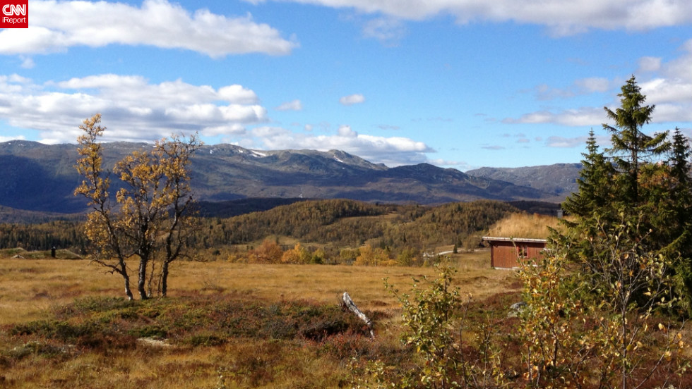 """Fall is my favorite season of the year,"" said Hans-Dieter Fleger, who used an iPhone 4S  to <a href=""http://ireport.cnn.com/docs/DOC-845931"">capture this view </a>of the Rauland Mountains in Telemark, Norway."