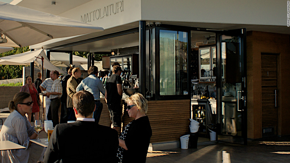 "This <a href=""http://www.mattolaituri.com/"" target=""_blank"">cafe</a> has become one of the most popular spots along the seafront for a coffee break and for drinks on warm summer evenings. It opened last year and embodies the innovative attitude of the new city planning department."