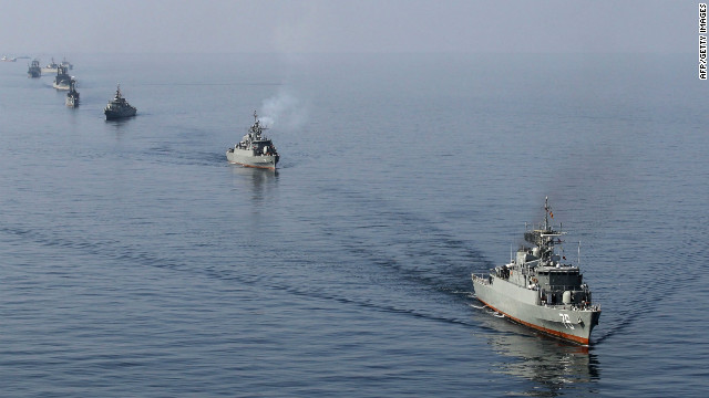 Iran, U.S. tensions growing over key shipping lane