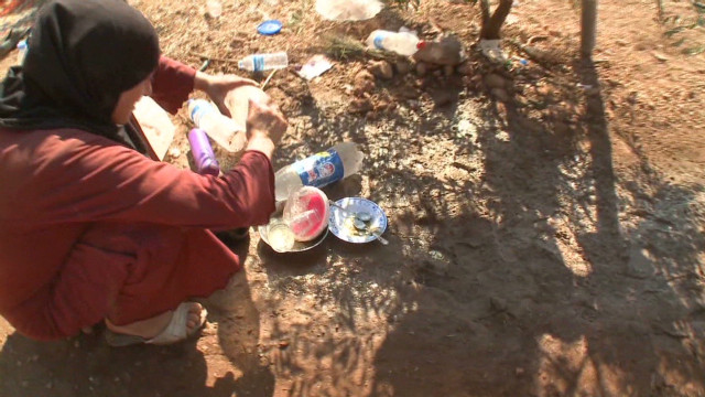 Fleeing Syrians trapped In squalor