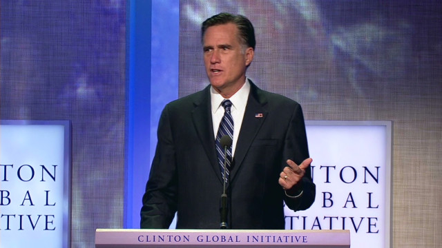 Romney's wants conditions on foreign aid