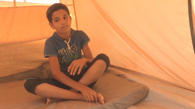 Syrian kids' reality stark, shocking