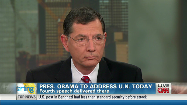 Barrasso: Obama failed on foreign policy