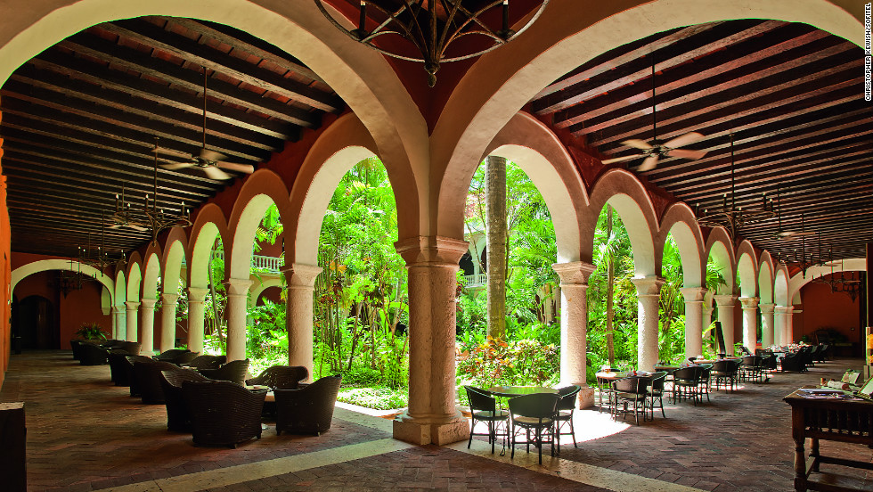 "The Sofitel Santa Clara has a long history, both as a 17th-century monastery and as a setting for Gabriel Garcia Marquez's novel ""Of Love and Other Demons."""