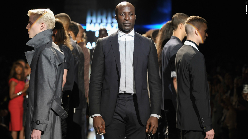 Ozwald Boateng, a British designer of Ghanaian descent, takes to the runway at the September 6 event.