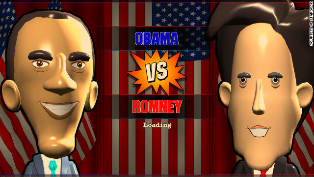 Create your own 2012 presidential race! But why does the Mitt Romney avatar look like John Kerry?