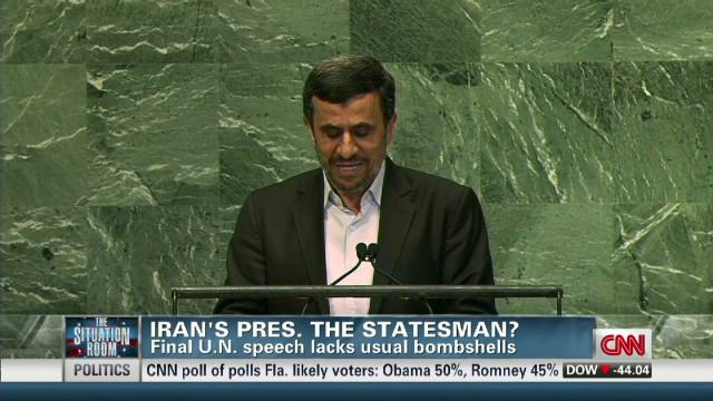 Iran's president: The statesman?