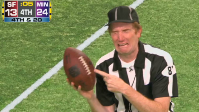 Conan: NFL replacement ref highlights