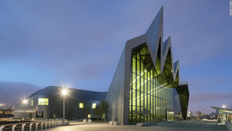 Hadid's Riverside Museum took home the European Museum of the Year Award in 2013.